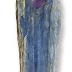 Jewelry - Blue Kyanite with Accent Point Pendant